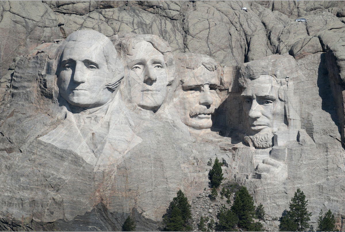 Mount Rushmore Scott Olson/Getty Images