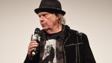 Musician Neil Young