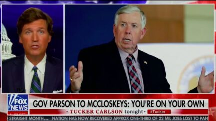 Tucker Carlson Calls Out Missouri's GOP Governor Over Failure to Protect McCloskeys