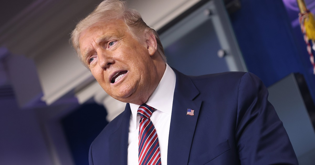 Trump says without proof that FDA 'deep state' slowing Covid vaccine trials