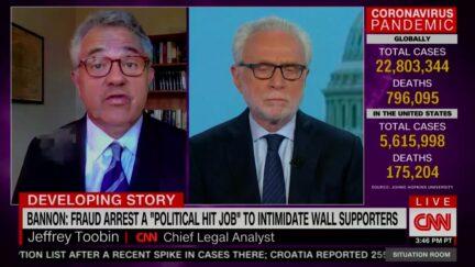 Jeffrey Toobin Says Steve Bannon's 'Best Chance' Is Trump Pardon