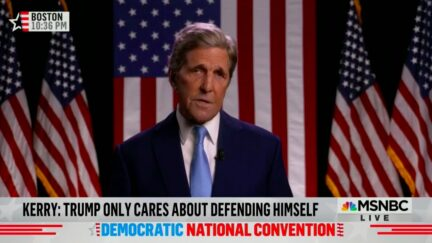 John Kerry Condemns Trump's 'Blooper Reel' Foreign Policy