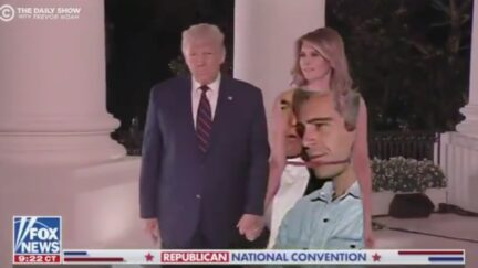 TDS Engages in Greenscreen Mischief with Melania's Dress