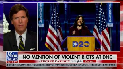 Tucker Carlson Falsely Claims Riots from May, early August were part of DNC 'After Party'