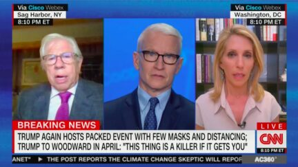 Carl Bernstein Nukes 'Homicidal President' Trump for Holding Maskless, Indoor Rallies