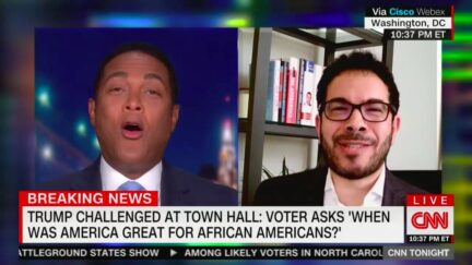 Don Lemon Exasperated Over Trump's 'I Hope There's Not Racism' Answer at Town Hall