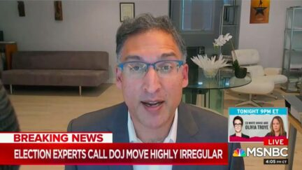 Neal Katyal Calls Out DOJ Politicization as Election Nears
