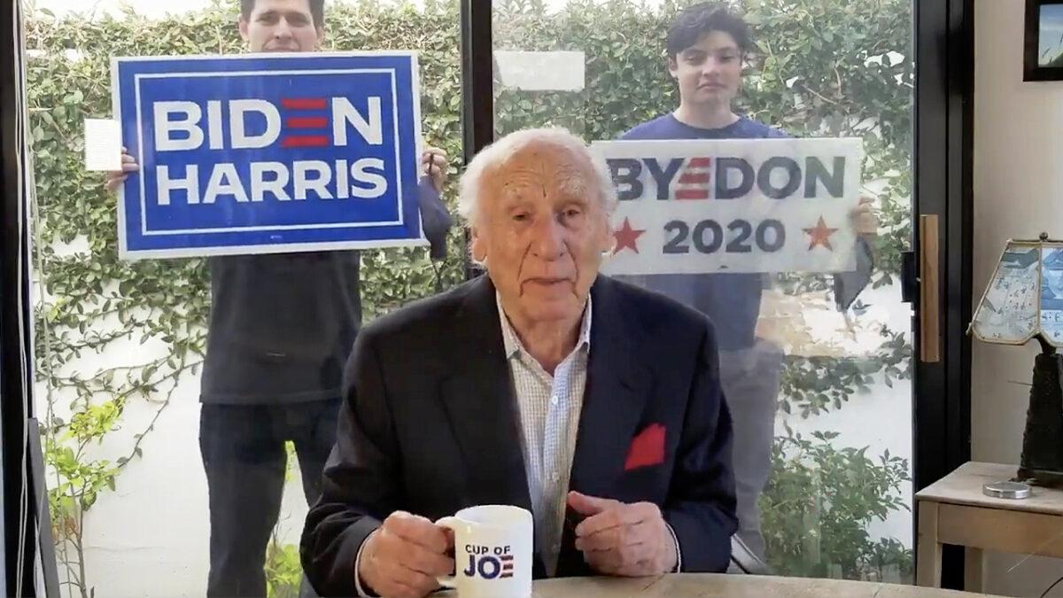 Mel Brooks shares video in support of Joe Biden on social media