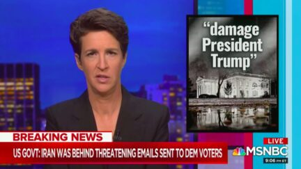Rachel Maddow Calls Out DNI Ratcliffe's Confusing Claim About Iranian Election Interference