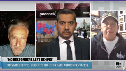 john stewart on The Mehdi Hasan Show
