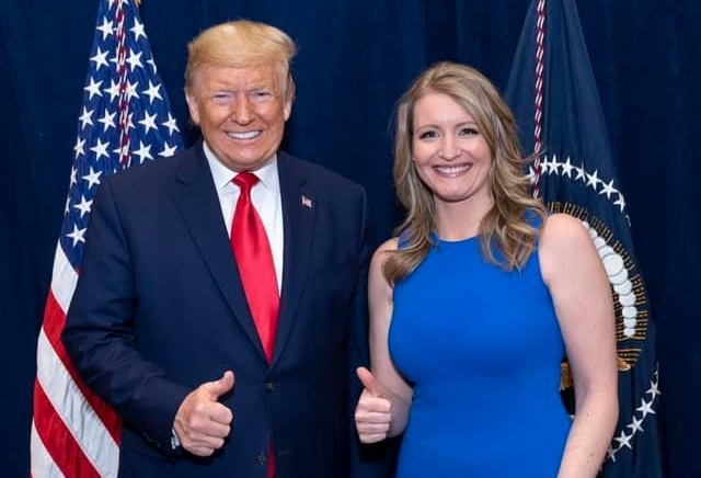president donald trump and jenna ellis