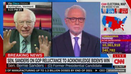 Bernie Sanders Says GOP Knows Trump Has Lost 'The Average Republican Senator Is Not an Idiot'