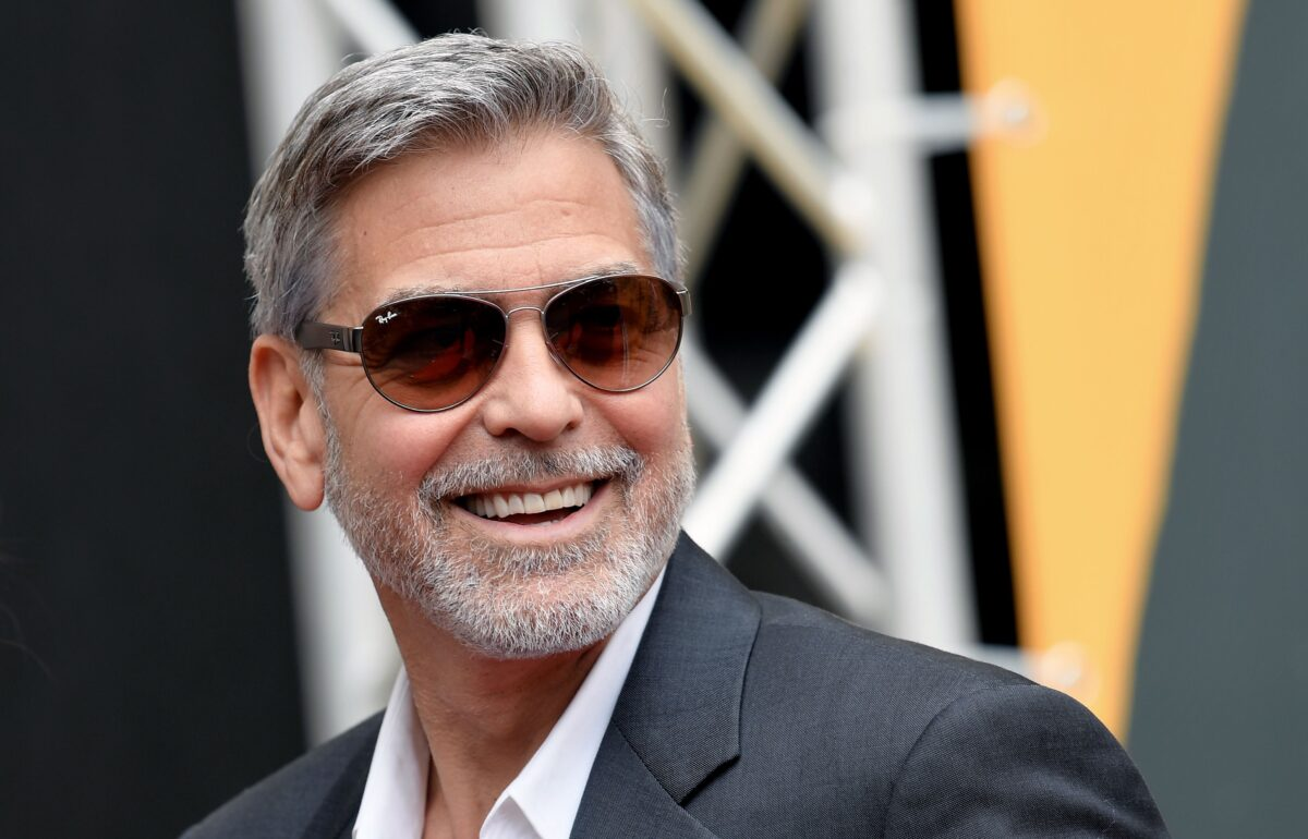 George Clooney One Million Friends