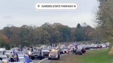 Online Outrage Over Trump MAGA Convoy Shutting Down Garden State Parkway