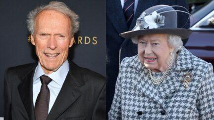Queen Elizabeth Clint Eastwood