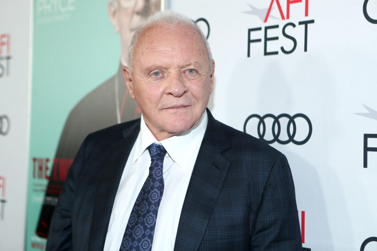 Anthony Hopkins Sober