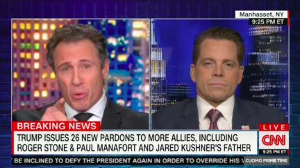 Chris Cuomo Says if Trump Attends Inauguration, Biden Should 'Point at His Ass' and Warn Republicans They Deserved Better