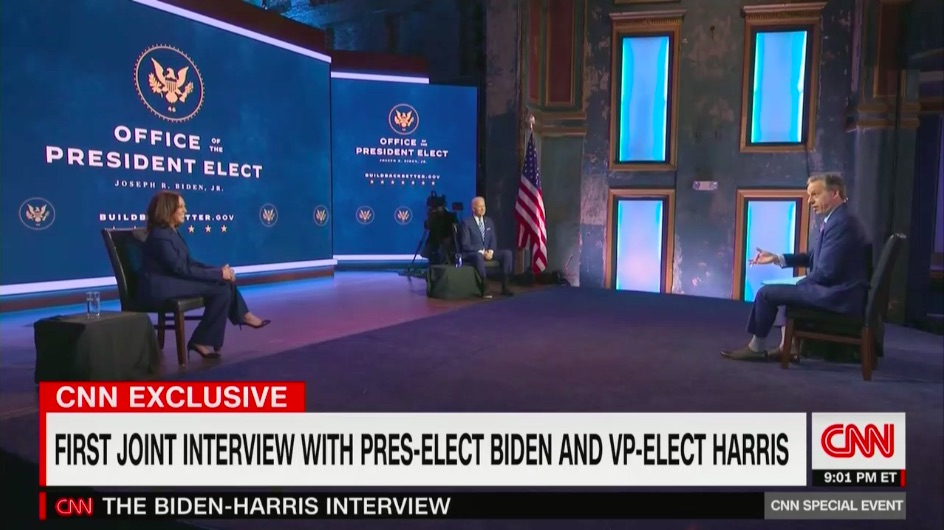 Jake Tapper Tops Thursday Cable News Ratings with Biden:Harris Interview
