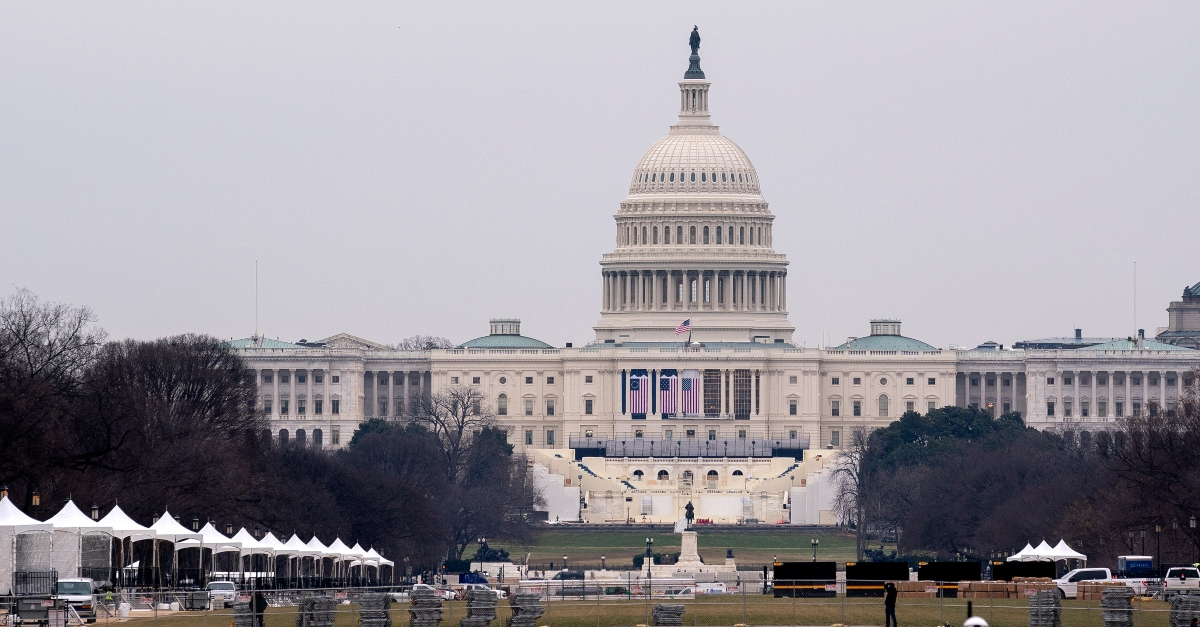 US Capitol on Lockdown Due to 'External Security Threat'