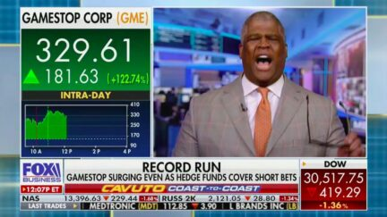Charles Payne Explodes on Hedge Funds for Shorting Stock That Redditors Now Boosting