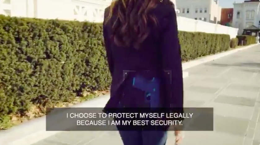 Lauren Boebert Fakes Campaign Video Claiming to Carry Glock on Walk to Congress