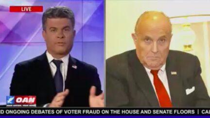Rudy Giuliani, Dan Ball Dismiss Capitol Mob Assault as 'Handful' of Rioters
