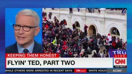Anderson Cooper Not Buying Ted Cruz's Post-Cancun Pivot