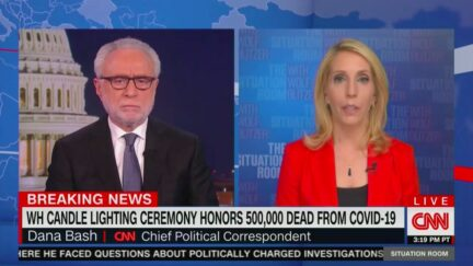 Dana Bash Contrasts Biden With Trump in White House on Covid