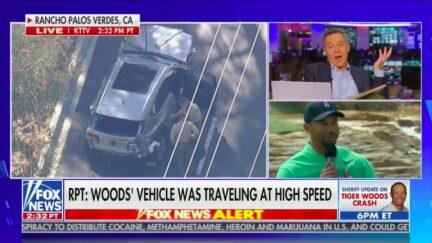 Greg Gutfeld Hits Media for Hyping Story of Tiger Woods' Car Crash