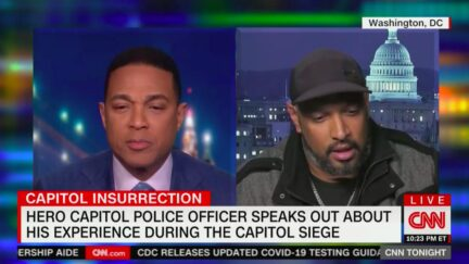 Capitol Police Hero Harry Dunn Gets Emotional Recounting January 6th Riot