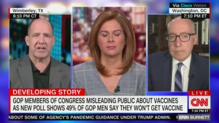 Matthew Dowd Warns GOP Base Falling for Party's Anti-Vaccine Misinformation