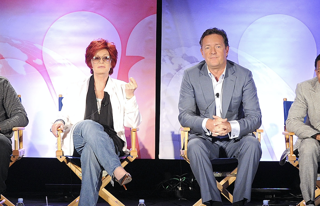 Sharon Osbourne apologizes to 'Black community,' Piers Morgan demands one for her
