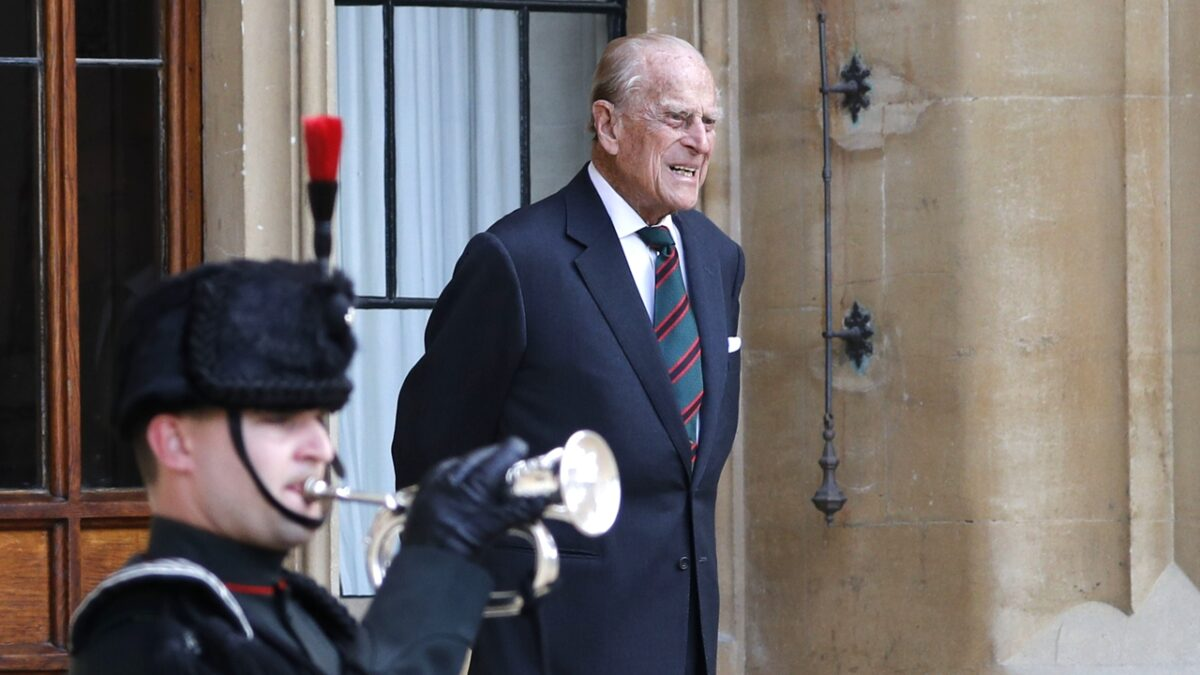 Prince Philip passes away