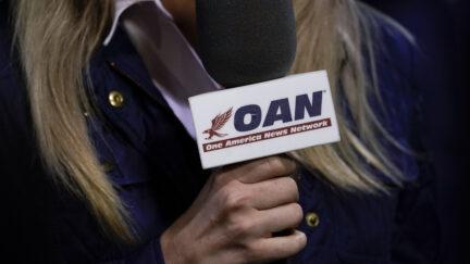 One America News Network reporter