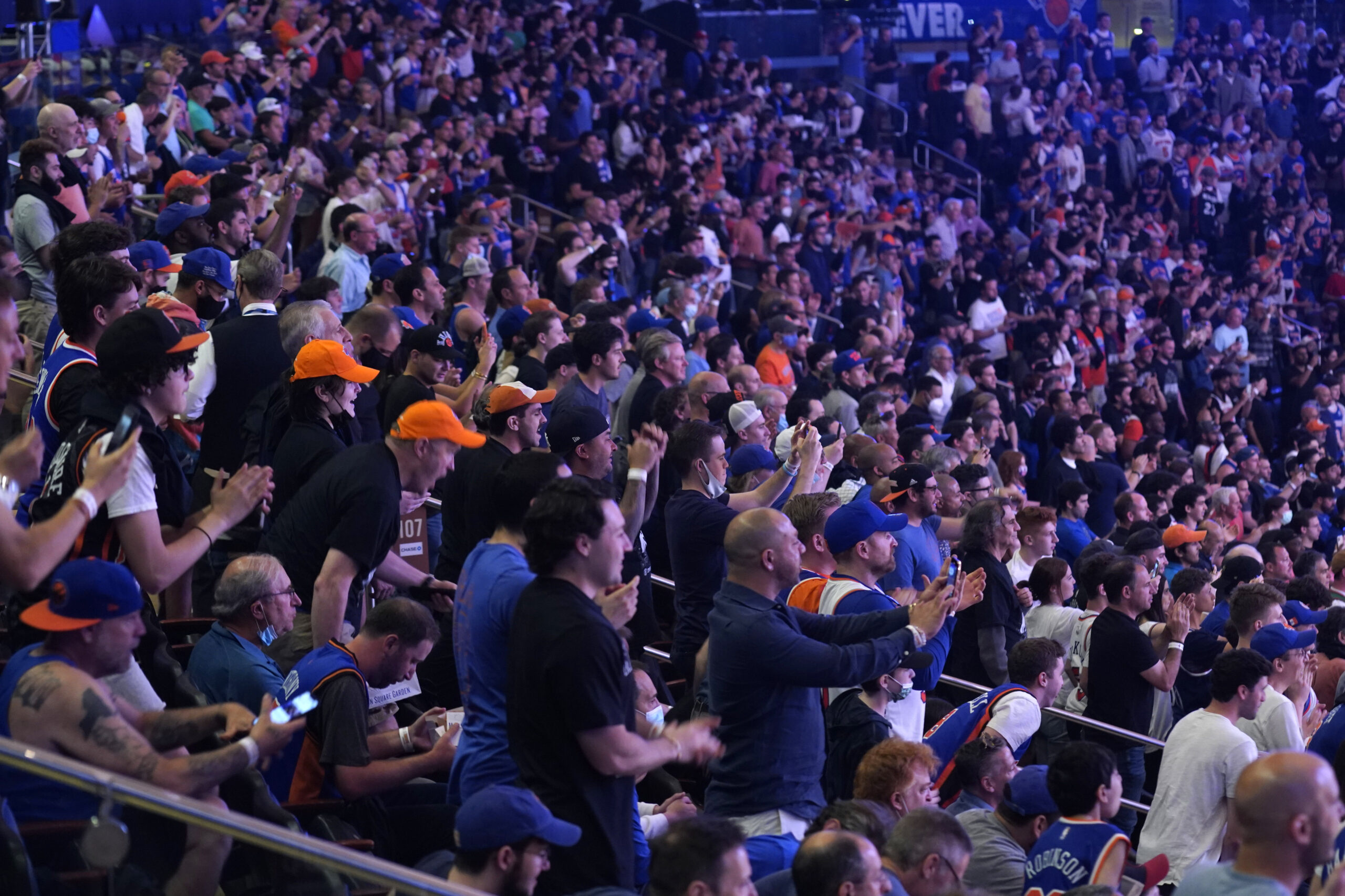 Knicks Fans — And LeBron James — Blown Away By Win Against Hawks