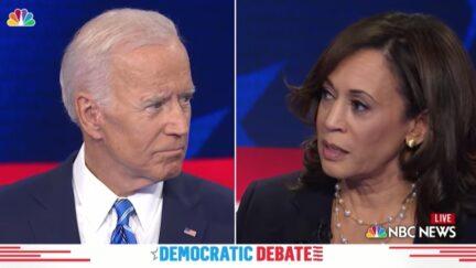 Joe Biden and Kamala Harris Debate