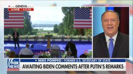 Mike Pompeo Praising Putin