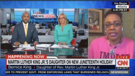 bernice king on cnn