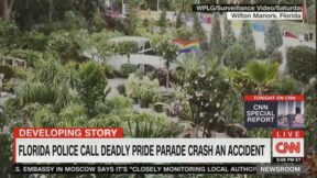 truck accident at pride parade