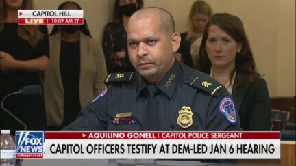 Capitol Police Officer Gonell