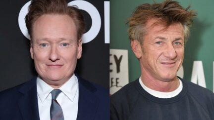 Conan O'Brien Sean Penn Cancel Culture