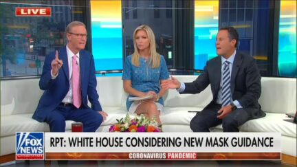 FOX and Friends Spar Over Masks and Vaccines