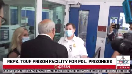Louie Gohmert tries to enter jail