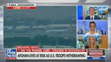 Emotional Fox News Segment -- American stranded in Afghanistan