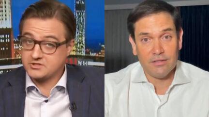 Chris Haye and Marco Rubio
