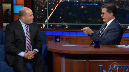 Brian Stelter on Stephen Colbert