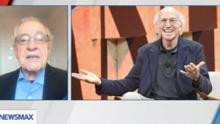 Alan Dershowitz on Run-in With Larry David