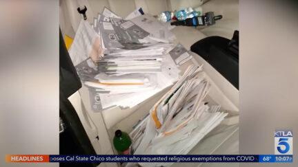 CA stolen recall ballots