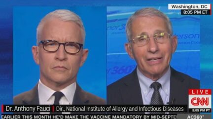 Anderson Cooper and Dr. Anthony Fauci