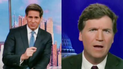 CNN's John Berman RIPS Tucker Carlson Over 'Not Even Thinly-Veiled Racism' of Replacement Theory